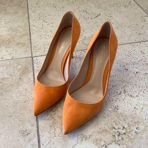 Gianvito Rossi orange heels